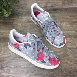 Adidas | Stan Smith Floral Sneakers